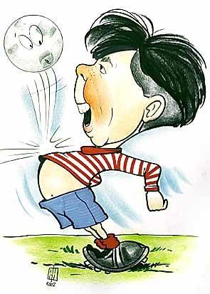 cartoon Buikbal