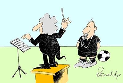 cartoon Fluitconcert